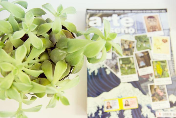 Planta y revista de diseño