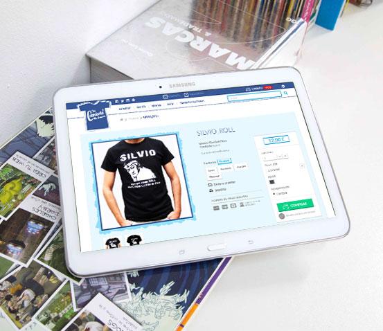 Ficha Producto Prestashop Tu camiseta me suena