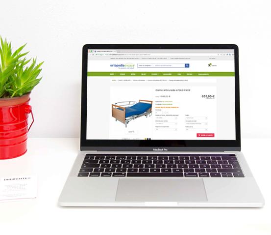 Tienda online ortopedia en casa