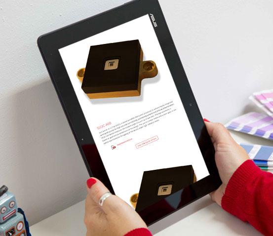Responsive tablet web Solar Mems