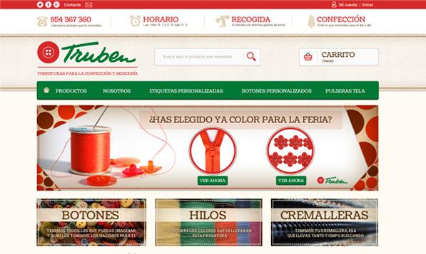 Tienda Online Prestashop Truben
