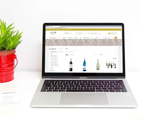 Categoría de productos Tienda Online de Vinos