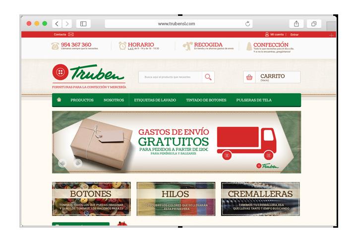 Tienda Online Prestashop Mercería