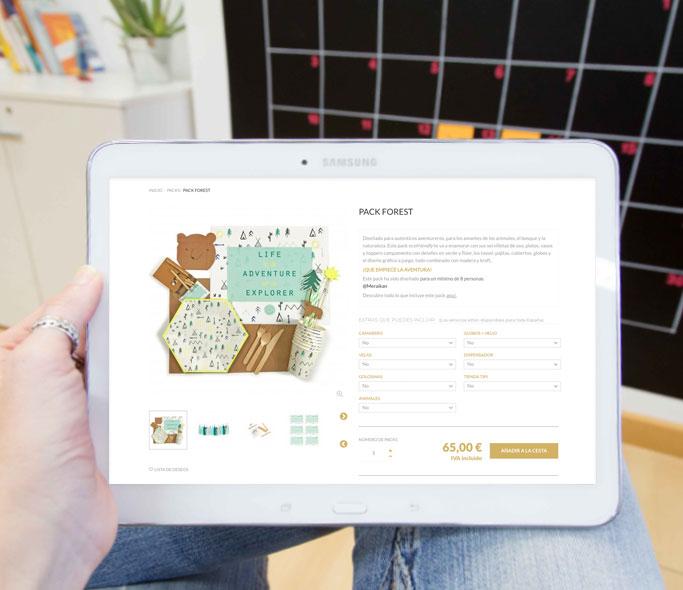 Tienda Online Meraikan Tablet