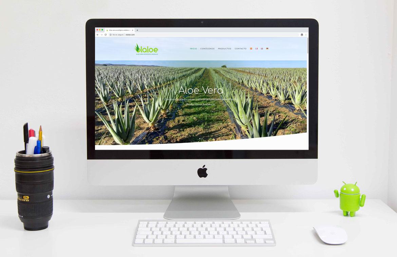 Página web Aloe Vera