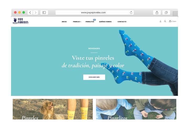 Tienda online Prestashop Calcetines
